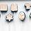Thumbnail: Cake Pop Stamp Upsherin Book Siddur Alef Bet with Fondant Embosser 2pc set