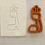 "Thumbnail: Hebrew SOFER Font 27 Fondant Letter Cutter Set 2.4""-4.5"""