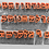 "Thumbnail: Hebrew MODERN Font 27 Fondant Letter Cutter Set 1"""