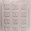 Thumbnail: Torah Luchot Tablets Chocolate Mold 12 Cavities each 1-7/8""