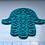 "Thumbnail: Hamsa Swirl EYE Cookie Cutter w/Fondant Embosser - 2-piece - 4"" or 8.5"""