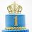 Thumbnail: Crown Cake Topper