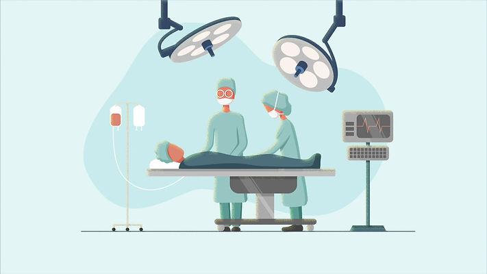 메디컬 애니메이션 일러스트 의료 의학