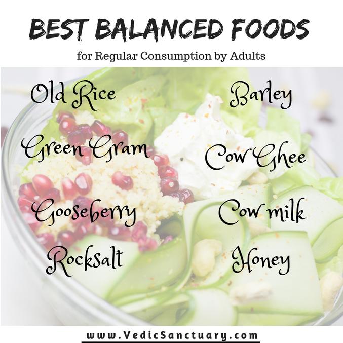 Best Balanced Foods