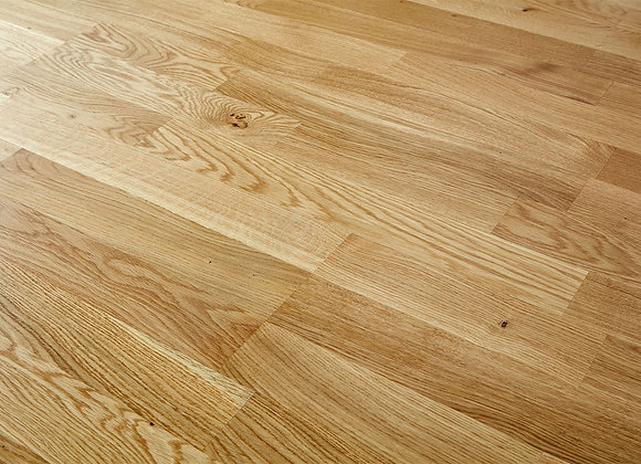 Nature Oak Engineered Floor 14mm X 207mm - 3 Strip Lacquered 3.18m2