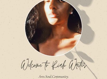 WELCOME TO RIAH WRITES