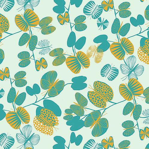 Butterfly Leaves - Cerulean