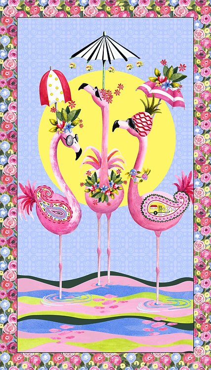 Flamingo Fantastico - Panel