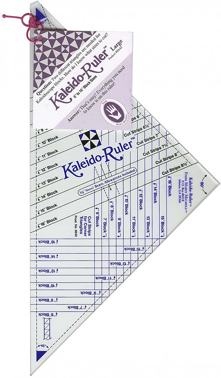 """Kaleido-Ruler - Large 6"""" to 16"""""""