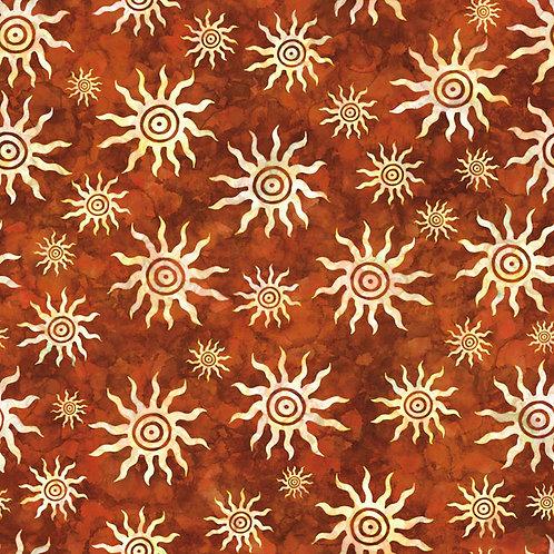 Southwest Reflection Suns - Rust