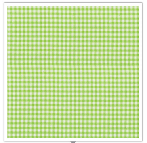 Gingham Flannel Green