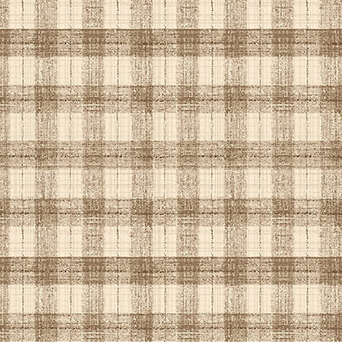 Blessings of Home Monotone Checks - Brown