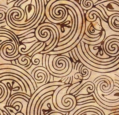 Beige Brown Swirls