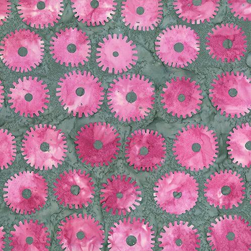 Artisan by Kaffe Fassett Saw Circles - Pink