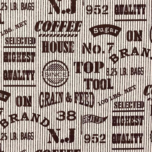 Brooklyn-Style Cotton/Linen Heavy Canvas
