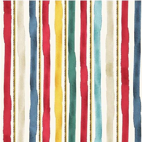 Nautical Stripe Cream