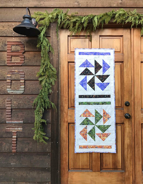 DUTCHMAN'S PUZZLE Wall Hanging/Table Runner