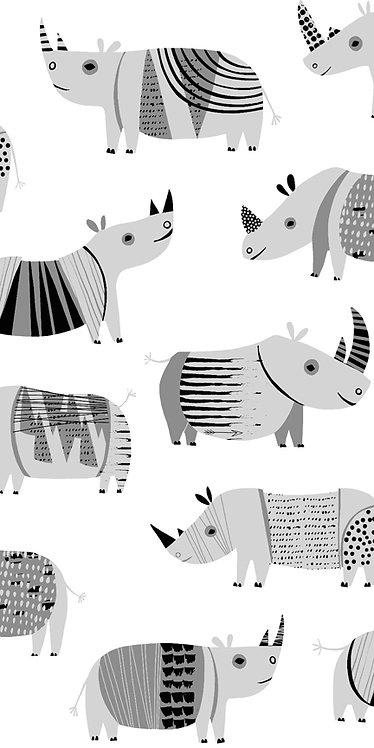 Dyno Rhino - White