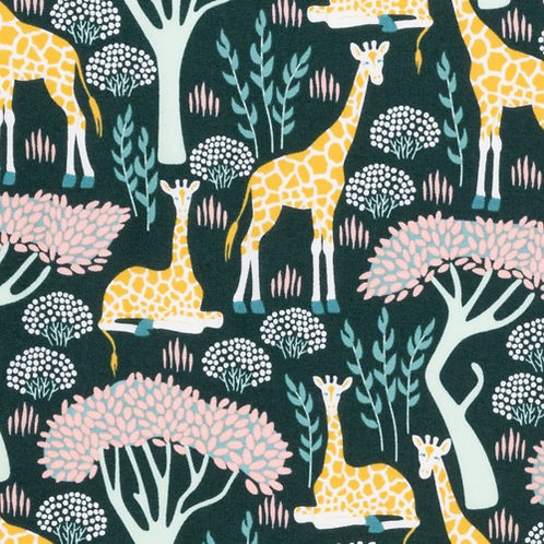 Wildlife Treasures - Giraffes Organic