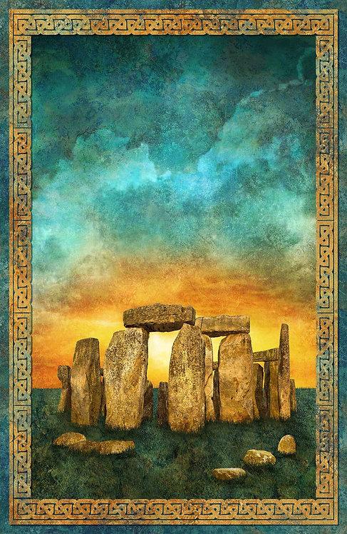 Stonehenge Solstice - Panel
