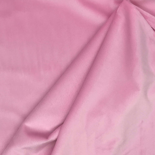 """Silky Minky Solids 60"""" - Candy Pink"""