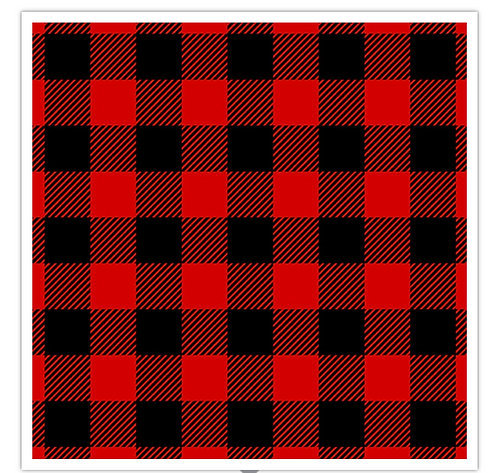 Buffalo Plaid Flannel Red