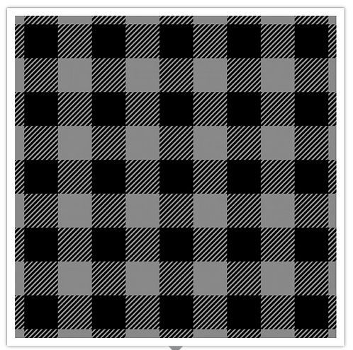 Buffalo Plaid Flannel Charcoal