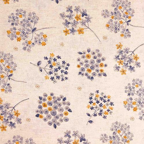 Koizumi Floral Medallions Cotton/Linen