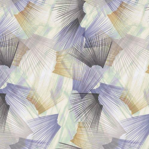 """Plume 108"""" Backing - Lavender/Beige"""