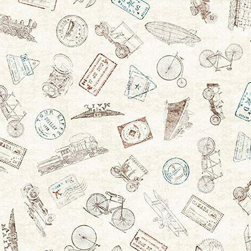Wanderlust - Ink Stamps