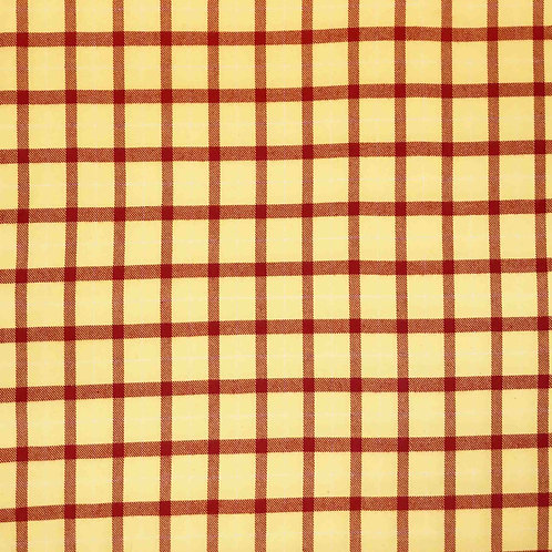 Primo Plaid Flannel - Yellow