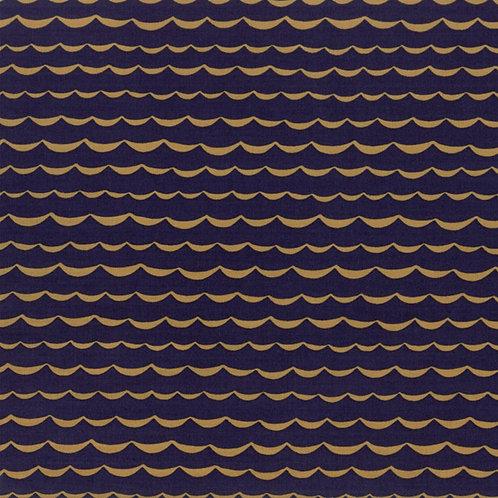 Yucatan - Wave - Navy