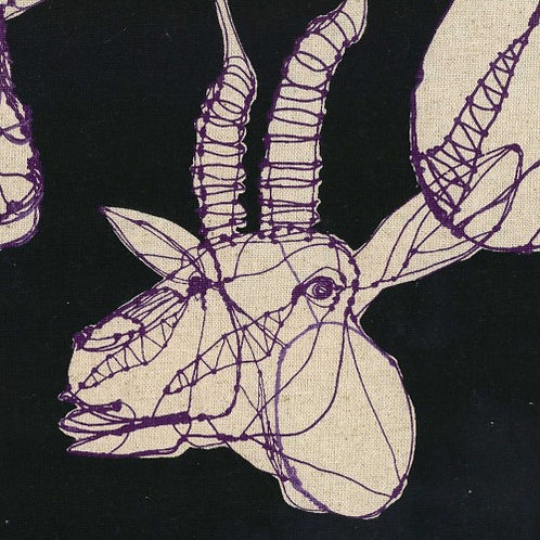Kokka Hayu 7700-2-D Cotton/Linen Canvas
