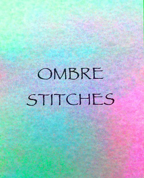 Ombre Stitches