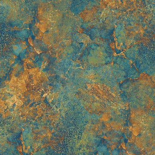 Stonehenge Solstice - Turquoise/Amber