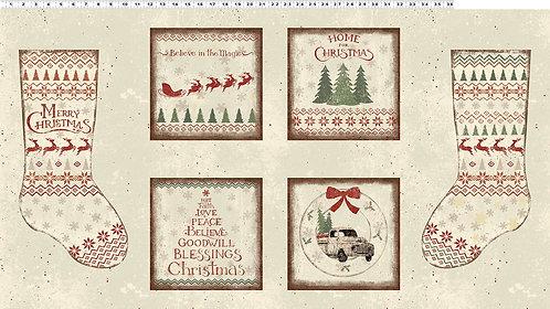 Home For Christmas - Panel