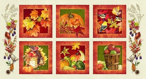 """Harvest Whisper 10"""" x 10"""" Blocks Panel"""