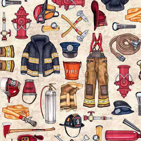 5 Alarm Firefighter Equipment - Stone