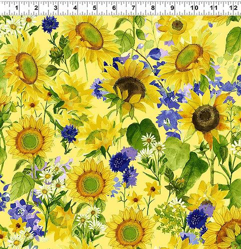 Sunny Fields - Allover