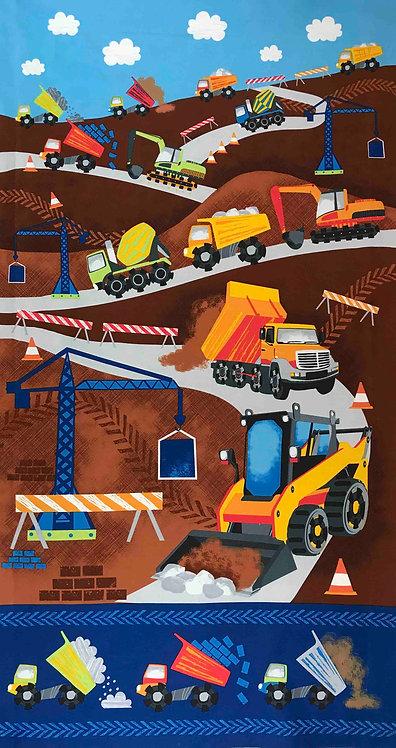 Dig It Construction - Panel