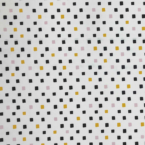 Lines and Shapes Canvas - Organic Cotton/Linen