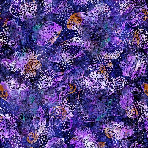 Aquatica Fish - Purple