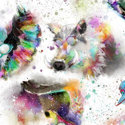 Sassier Animals - White