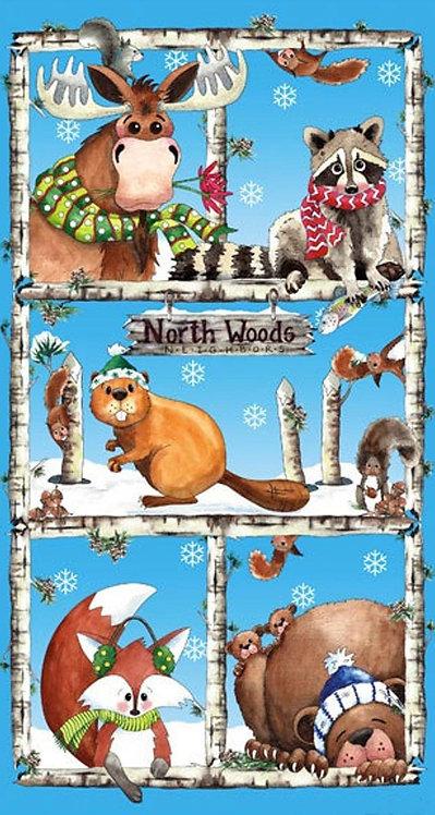 North Woods Neighbor - Panel
