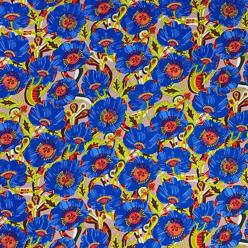 Vibrant Blooms - Blue