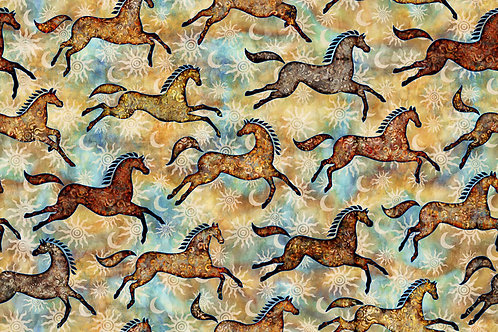 Southwest Reflection Ponies - Tan