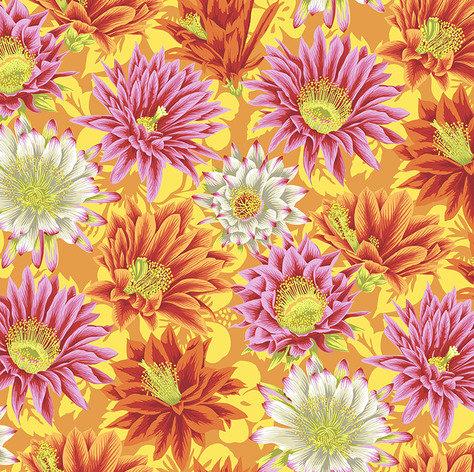 Cactus Flower - Yellow