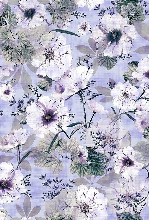 Simone Floral - Light Violet