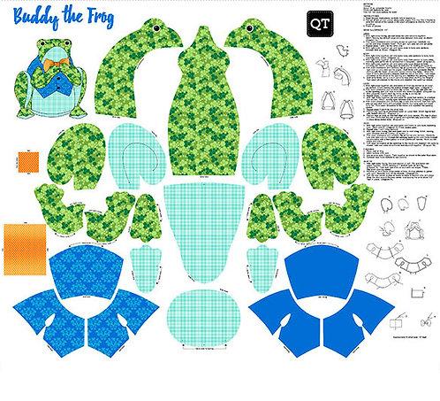 Buddy The Frog - Panel