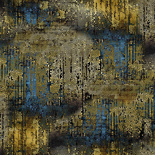 Gilded Mosaic - Gold